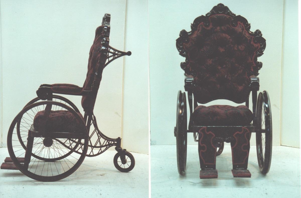 LNM wheelchair.jpg ... - 1930's Wheelchair ControlBooth