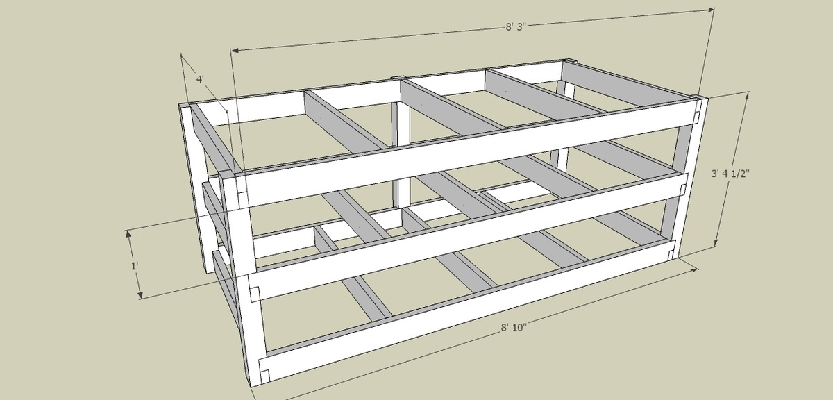Vertical Plywood Storage Rack Plans Plans DIY Free ...