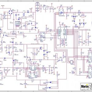 Martin Atomic 3000 - Schematic