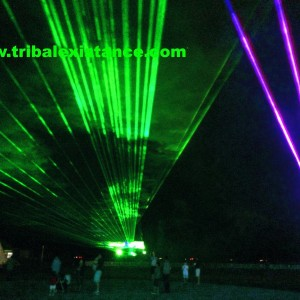 Extreme Sky Laser Light Show Event Rental Design Services By Tribal Existance Productions Worldwide